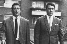 Twins: Ronnie and Reggie Kray 1964