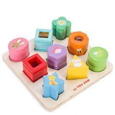 vkládačka tvary – smysly | Dětské hračky pro holky i kluky | ookidoo.com