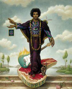 Jimi Hendrix, Mark Ryden, 1999