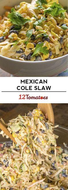Mexican Cole Slaw Recipe