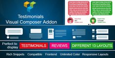 Download Testimonials Showcase for Visual Composer add on Nulled Latest Version