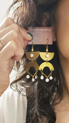 Egyptian Eye Earrings - More Colors Available – TOODLEBUNNY