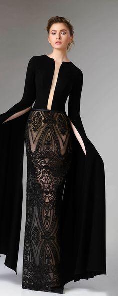 """Edward Arsouni """"Divina"""", H/W 2018-2019 - Couture - http://de.orientpalms.com/Edward-Arsouni-7198"""