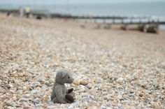 Ah the English seaside! #TweedyTed discovered that #Bexhill is not a place to build sand castles though! #Sussex