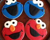 Sesame Street themed cookies