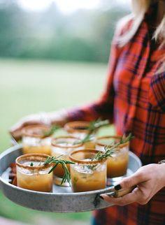 Apple Cider bourbon cocktails