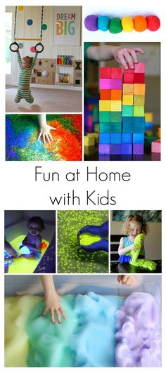 Our 15 Best Activities for Babies, Toddlers, and Preschoolers from Fun at Home with Kids.