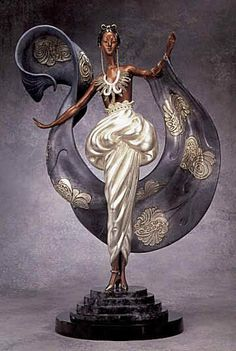 Erte Dream Girl Bronze