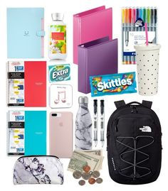 Back To School Supplies List, School Kit, Life Hacks For School, Cute School Supplies, School Bag Essentials, Backpack Essentials, School Suplies, Apps, Interior Decorating
