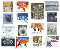 The Kavanaugh Report: 14 Montessori Friendly Books for Winter