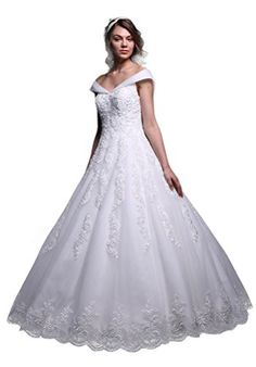 Fancode Women's Beaded Applique Cap Sleeves Wedding Dress Fancode http://www.amazon.com/dp/B01CQK0TGG/ref=cm_sw_r_pi_dp_YEk7wb0DZQ9R4