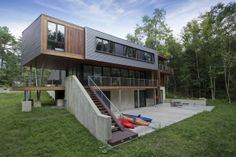 berkshire pond #house - Metal Sheet-Wrapped Housing