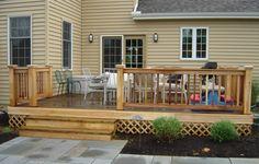 back deck design ideas | ... of Decks at Our House (2) | Home Design & Interior Design Genius Blog