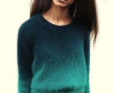 ombre sweater.
