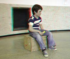 Duane Hanson  Seated Child 3D