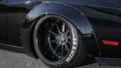 Liberty Walk Shows off their new Challenger Body Kit