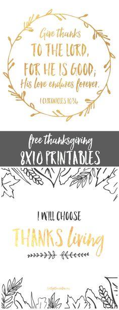 free 8x10 thanksgiving printables (Christian Halloween Crafts)