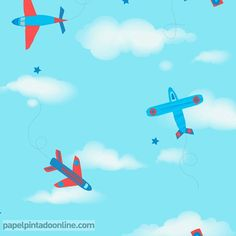 7 Ideas De Papel Pintado Nubes Pintar Nubes Papel Pintado Color Celeste