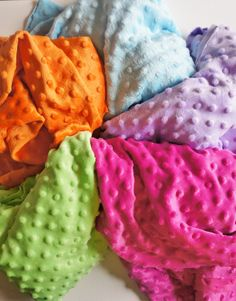Minky Changing Pad Cover  Fuchsia by ModFox on Etsy, $20.00