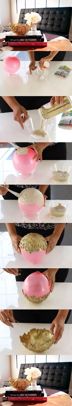 How To Make A Glitter Bowl Pictures, Photos, and Images for Facebook, Tumblr, Pinterest, and Twitter