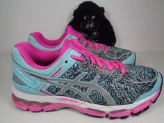 Womens Asics Gel Kayano 22 Running Cross Training shoes size 9.5 US  ASICS   RunningCrossTraining db3755b668