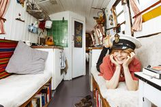this person lives in a boat and is apparantly much happier than me http://theselby.com/galleries/retts-wood-at-home-in-london/