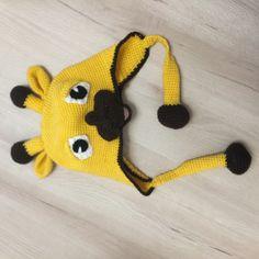 Giraffen Mütze gehäkelt Crochet Hats, Fashion, Knitting Hats, Moda, Fasion, Trendy Fashion, La Mode