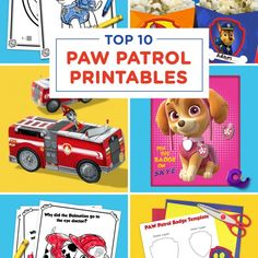 Check out some of our favorite PAW Patrol coloring pages, activity packs, games and more! Toddler Valentine Crafts, Valentines For Boys, Toddler Crafts, Paw Patrol Bedding, Paw Patrol Party Invitations, Paw Patrol Coloring Pages, Paw Patrol Pups, Little Girl Birthday, 3rd Birthday