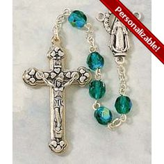 PERSONALIZE: Birthstone Rosary - May