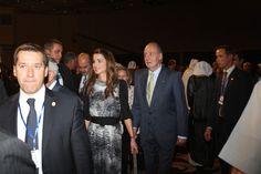 Queen Rania - KIng Juan Carlos of Spain Visit Jordan - Day 2