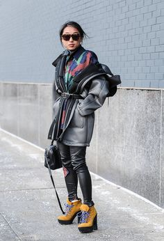 Pin for Later: Street Style bei der New York Fashion Week Tag 4