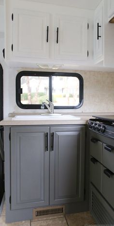 Update: RV Kitchen Cabinets