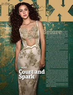 """""""NEW shoot! I love @AdelaideKane with that dress! She look so beautiful! #Reign!"""""""