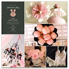 Corset Bachelorette Party or Lingerie Shower on Minted.com