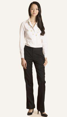 The Barrington Tailored Shirt #luxury #buttonup #busineschic #workwear #workingwardrobe