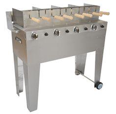 Chimney cake gas grill