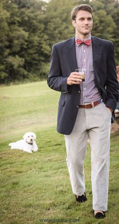 Perfect fall outfit for any guy! the cute dog wouldnt hurt either lol