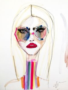 The Comeback of Fashion Illustration: And the top new illustrators of today – Jia Collection Source by racheldavinci fashion illustration Fashion Art Illustration, Illustrators, Face Art, Sketches, Illustration Art Girl, Illustration, Drawings, Art, Interesting Art