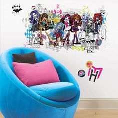 MONSTER HIGH GiAnT Wall ...