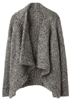 love this comfy sweater cover up that would go with pretty much everything in my wardrobe for fall & winter!