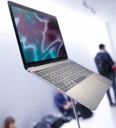 Here's a sneak peek at the latest MacBook.