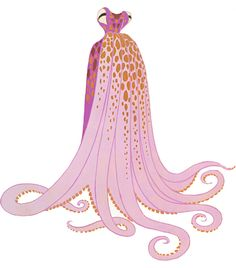 @Lady Blithe ~ wish I had seen this sooner ~ you could have worn this for your wedding!!   Costume Design - Erte