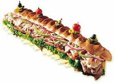It has always been my dream to eat a 6ft party sub.