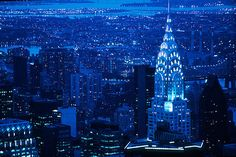 The Empire State Building (and surrounding buildings), NYC, New York