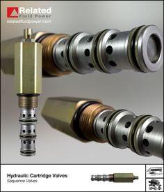 Our sequence  valves can be found in numerous applications including log splitters and dock levellers. For full details check www.relatedfluidpower.com Marine Engineering, Mechanical Engineering, Hydraulic Pump, Hydraulic System, Water Valves, Control Valves, Machine Tools, Gay, Tech