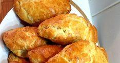 Τυροπιτάκια κουρού !!!🤗 Η πιο νόστιμη συνταγή που θα έχετε φτιάξει!!! Συνταγή ζύμης: 240 ml γάλα, 240 ml βούτυρο, 240ml λάδι, ... Cornbread, Recipies, Homemade, Ethnic Recipes, Food, Millet Bread, Recipes, Home Made, Essen