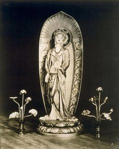 Ruth St Denis as Kuan Yin.