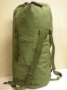 Military Duffle Bags   US Military Surplus Duffel Duffle Bag Nylon Duck Clothing Laundry Bag ...