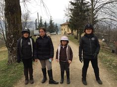 Le ragazze: Sara, Giovanna, Sofia e Giulia