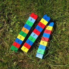 LEGO-Alfabet Skattejagt